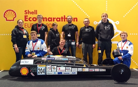 Eco Shell Marathon Fahrzeug