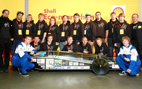 Eco Shell Marathon Rekordfahrzeug