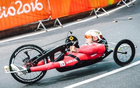 Handbiker in Rio 2016 Silber