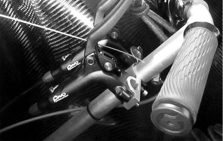Hydraulische Ansteuerung Trommelbremse am Fahrrad